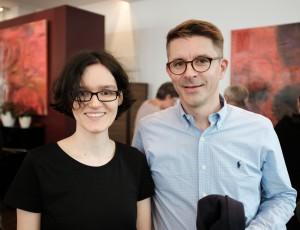 Giovanna-Beatrice Carlesso und Tobias Schwartz, Literaturhaus Stuttgart